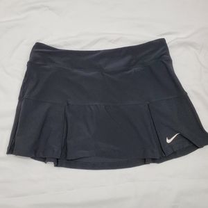 Nike dry fit tennis skort black